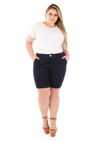 Imagem de Shorts Jeans Feminino Lucky Blue Plus Size