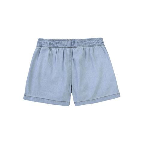 Imagem de Shorts Jeans Infantil Menina Com Bolsos Hering Kids