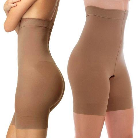 Imagem de Shorts Slim modeladora para Afinar a cintura com abertura higiênica Loba Lupo