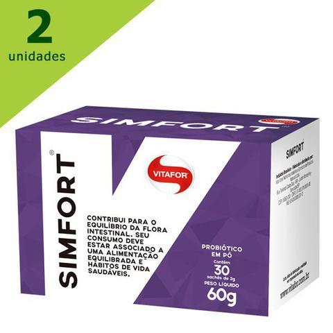 Imagem de Simfort 2 caixas com 30 sachês 2g - vitafor