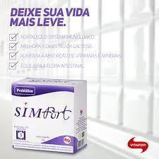 Imagem de Simfort Probiotico Vitafor Lactobacilos Saches 10 saches 2g