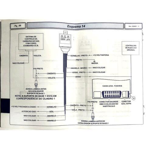 Imagem de Simulador de Sonda AEB426 OBD II p/  GNV e Gasolina