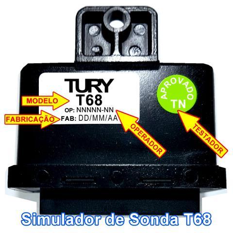 Imagem de Simulador Flex e 2 Sondas no GNV T68 TURY GAS
