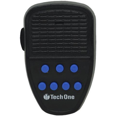 Imagem de Sirene 12V Tech One 7 Tons Microfone Megafone Buzina Policia Militar Tipo Rontan Bombeiro Carro Moto