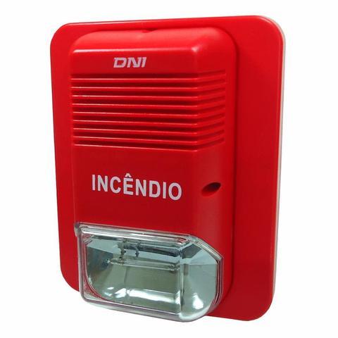 Imagem de Sirene para Monitoramento e Incêndio - 24V - DNI 4206