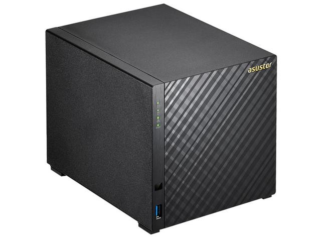 Imagem de Sistema De Backup Nas Asustor As1004t V2 Marvell Dual Core 1,6 Ghz 512mb Ddr3 Torre 04 Baias
