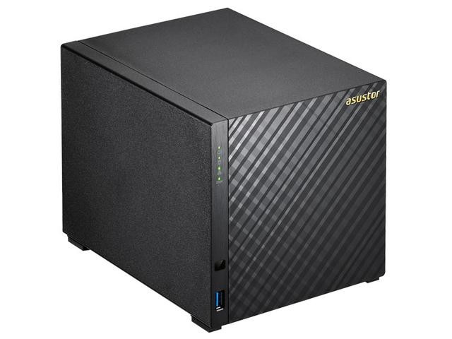 Imagem de Sistema De Backup Nas Asustor As3104t Intel Dual Core 1,6ghz 2gb Ddr3 Torre 4 Baias