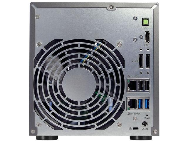 Imagem de Sistema De Backup Nas Asustor As6204t Intel Quad Core J3160 1,6ghz 4gb Ddr3 Torre 4 Baias Hot-swap