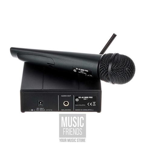 Imagem de Sistema de Microfone sem Fio AKG WMS40 Mini Vocal Set US25B Cardioide
