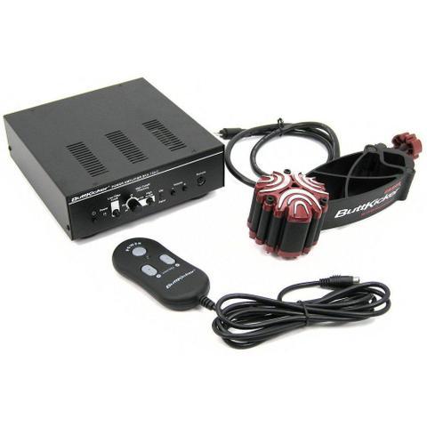 Imagem de Sistema de vibração - ButtKicker Gamer2 - Preto/Vermelho - BK-GR-2