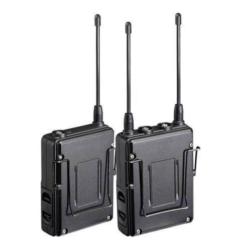 Imagem de Sistema Microfone Lapela Sem Fio Saramonic UwMic10 UHF Wireless com Transmissor TX10 e Receptor RX10
