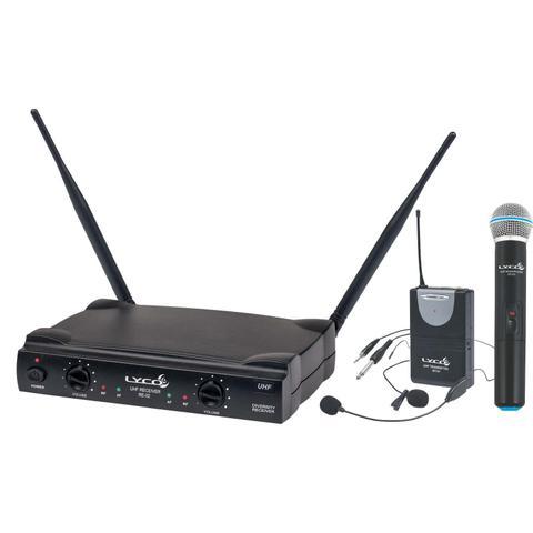 Imagem de Sistema Microfone sem Fio Headset Lapela e Instrumento LYCO  UH-02MHLI