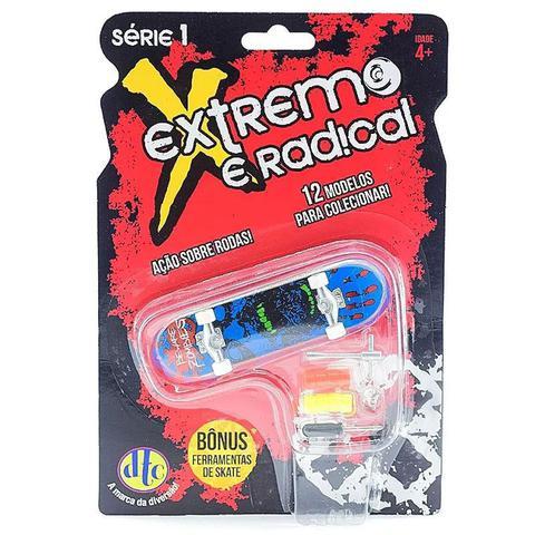 Imagem de Skate De Dedo Extremo E Radical Série 1 Azul Preto