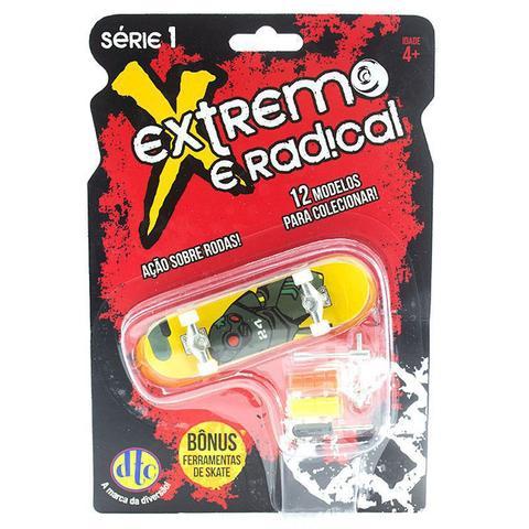 Imagem de Skate De Dedo Extremo E Radical Série 1 Robo Amarelo