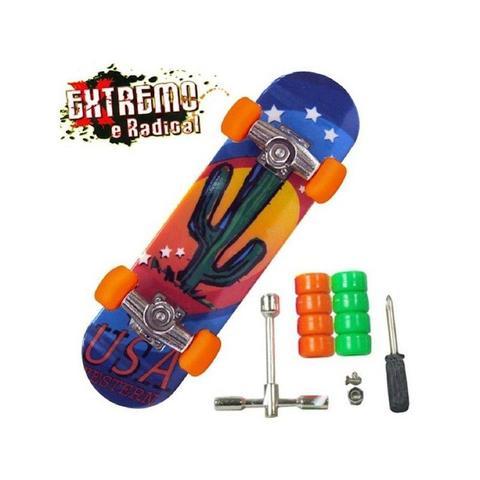 Imagem de Skate De Dedo Extremo Radical Dtc 3752