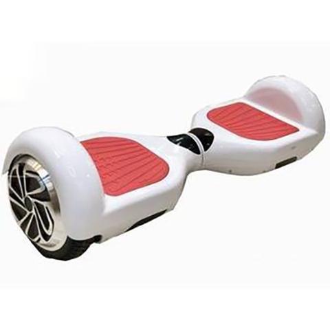 Imagem de Skate Elétrico Hoverboard 6.5'' 3000s Branco com LED Frontal e Bluetooth - Foston