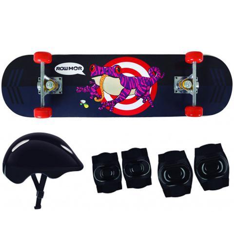 Imagem de Skate Infantil + Acessórios Segurança Sapo Mor 40600201