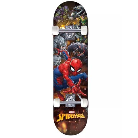 Imagem de Skate Marvel Homem-Aranha com Inimigos - DTC