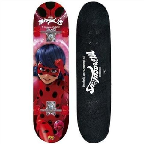 Imagem de Skate Miraculous Ladybug com Acessorios de Segurança FUN 8108-3