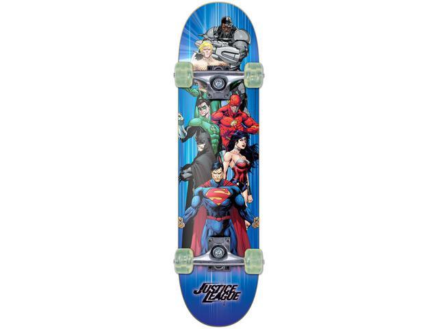 Imagem de Skateboard Infantil DC Liga da Justiça