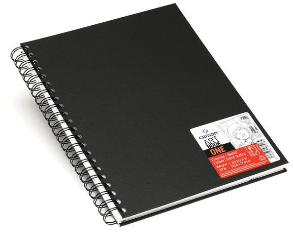 Imagem de Sketchbook One Espiral 100 g/m² A-4+ 21,6 x 27,9 cm com 80 Folhas Canson