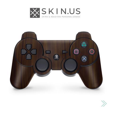 Imagem de Skin Adesivo - Brown Wood  Manete PS3 - Playstation 3