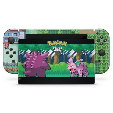 Imagem de Skin Adesivo para Nintendo Switch - Pokemon Firered