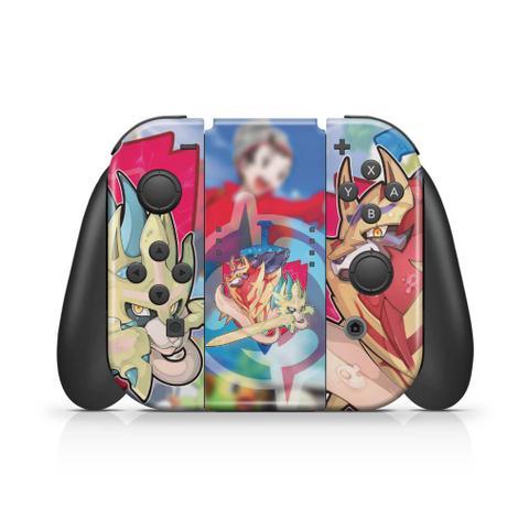 Imagem de Skin Adesivo para Nintendo Switch - Pokémon Sword And Shield
