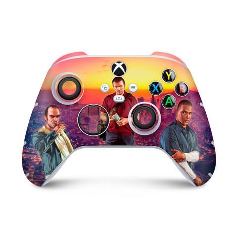 Imagem de Skin Adesivo para Xbox Series S X Controle - GTA V