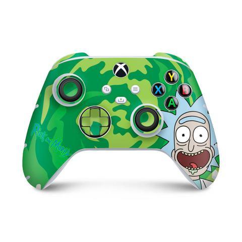 Imagem de Skin Adesivo para Xbox Series S X Controle - Rick And Morty