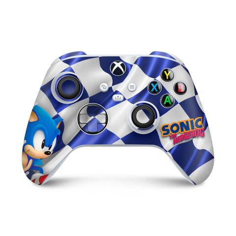 Imagem de Skin Adesivo para Xbox Series S X Controle - Sonic