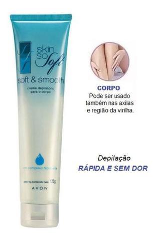 Imagem de Skin so soft creme depilatório para o corpo