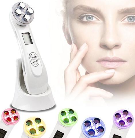 Imagem de SkinBeauty - Aparelho Portátil Fototerapia & Radiofrequência LED Facial Anti-Rugas