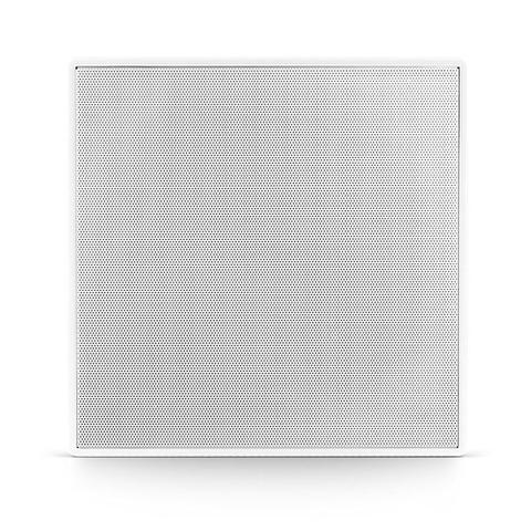 Imagem de Slim Wall Branco Frahm + 2 Arandelas Quadradas Full Range
