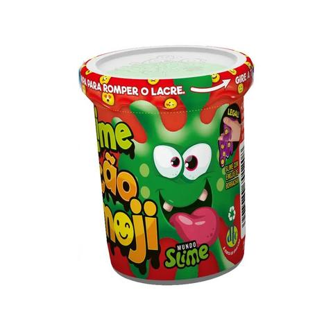 Imagem de Slime Ecão Emoji Cores Sortidas 110g Lavável Dtc