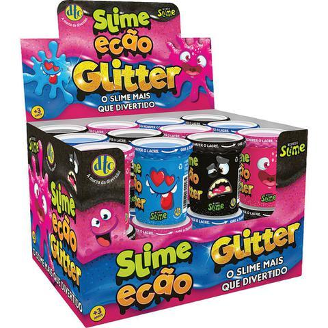 Imagem de Slime Ecão Glitter DTC 5055 110g