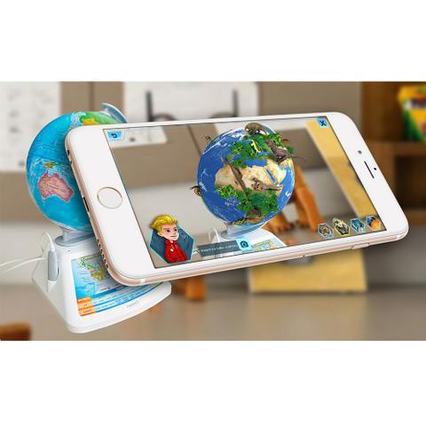 Imagem de Smart Globe Adventure com Realidade Aumentada
