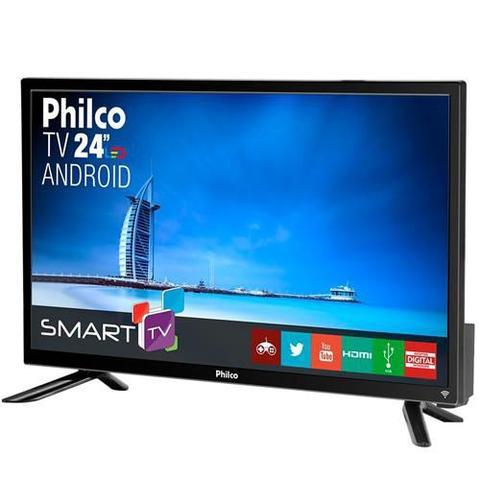 Imagem de Smart TV 24 Polegadas Led Full HD PTV24N91SA - Philco