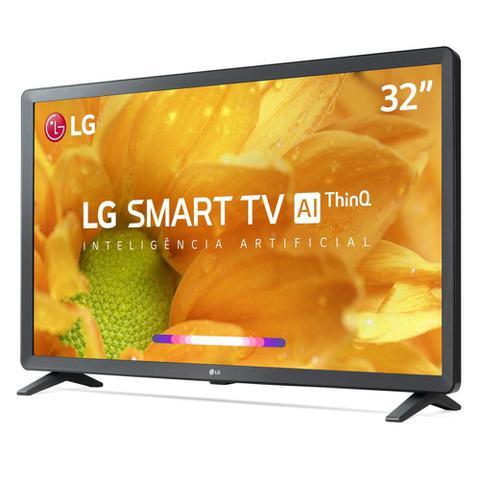 Imagem de Smart TV 32' LG LCD HD 32LM625BPSB ThinQ AI Inteligência Artificial webOS 4.5 HDR 3 HDMI 2 USB
