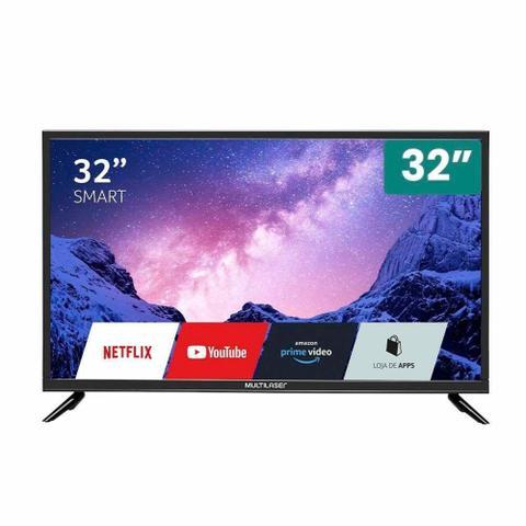 """Tv 32"""" Led Multilaser Hd Smart - Tl036"""