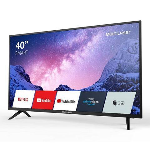 Imagem de Smart Tv 40 Polegadas Fhd Dled Linux 768 Mb Ram Multilaser