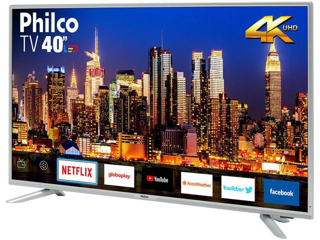 """Imagem de Smart TV 4K LED 40"""" Philco PTV40G50SNS"""