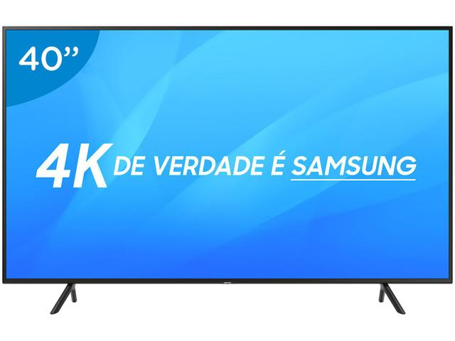 """Imagem de Smart TV 4K LED 40"""" Samsung NU7100 Wi-Fi HDR"""