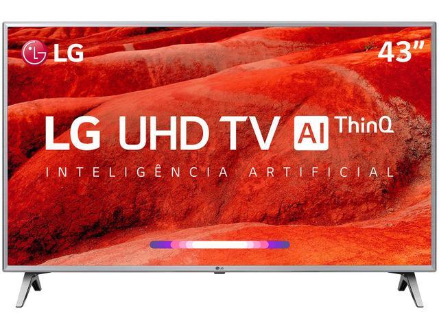 "Imagem de Smart TV 4K LED 43"" LG 43UM7500PSB Wi-Fi"