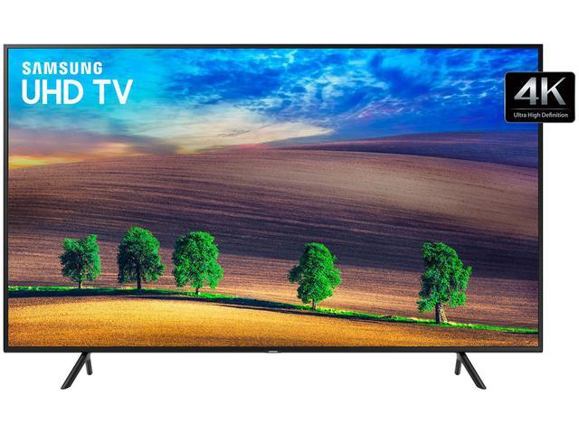 """Imagem de Smart TV 4K LED 43"""" Samsung UN43NU7100 Wi-Fi"""