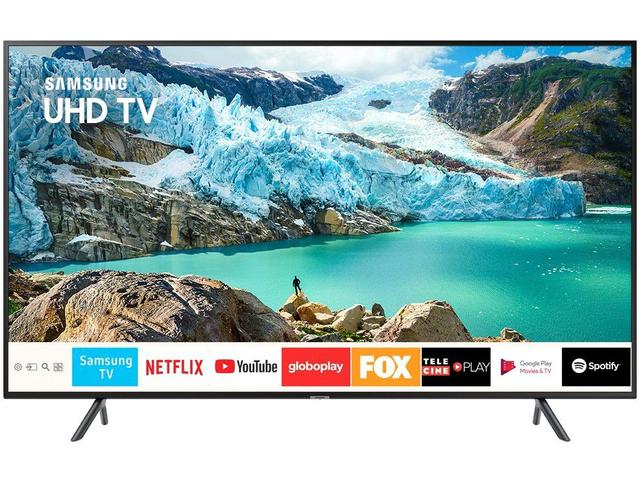 "Imagem de Smart TV 4K LED 43"" Samsung UN43RU7100 Tizen"