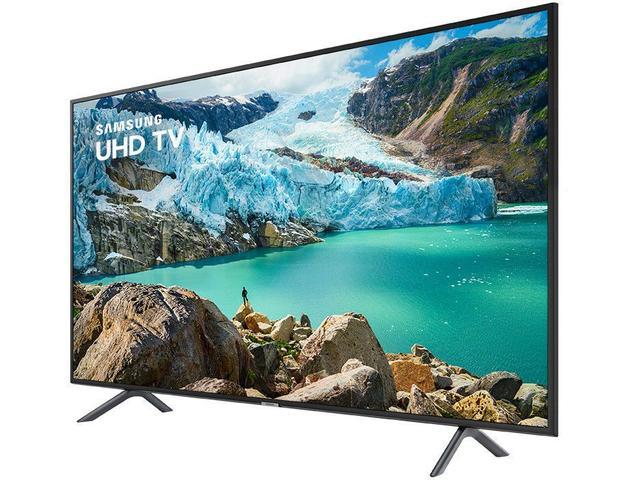 "Imagem de Smart TV 4K LED 43"" Samsung UN43RU7100 Wi-Fi"