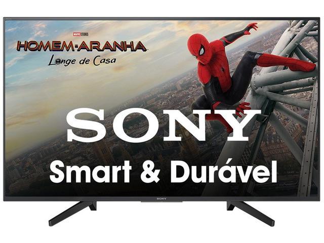 """Imagem de Smart TV 4K LED 43"""" Sony KD-43X705F Wi-Fi"""