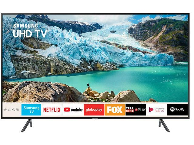 "Imagem de Smart TV 4K LED 49"" Samsung UN49RU7100GXZD"
