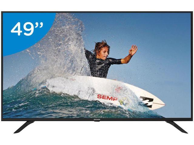 "Imagem de Smart TV 4K LED 49"" Semp SK6000 Wi-Fi"